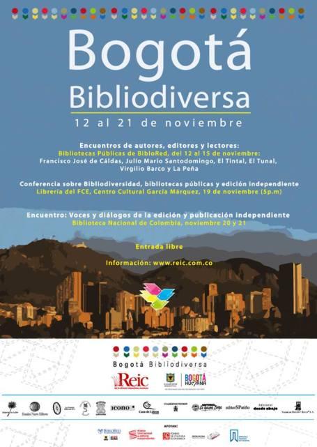 ¡Ya llega Bogotá Bibliodiversa!